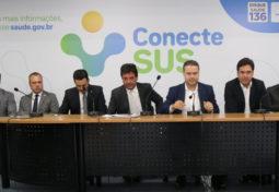 Lançamento do programa Conecte SUS