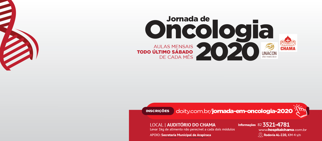Jornada de Oncologia – Arapiraca 2020