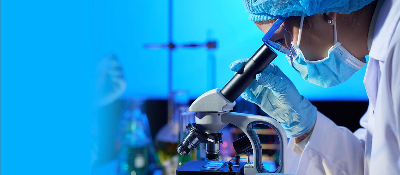 Laboratório de anatomia patológica do Hospital Chama
